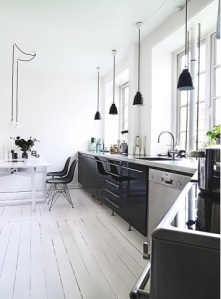 Designers home in Østerbro